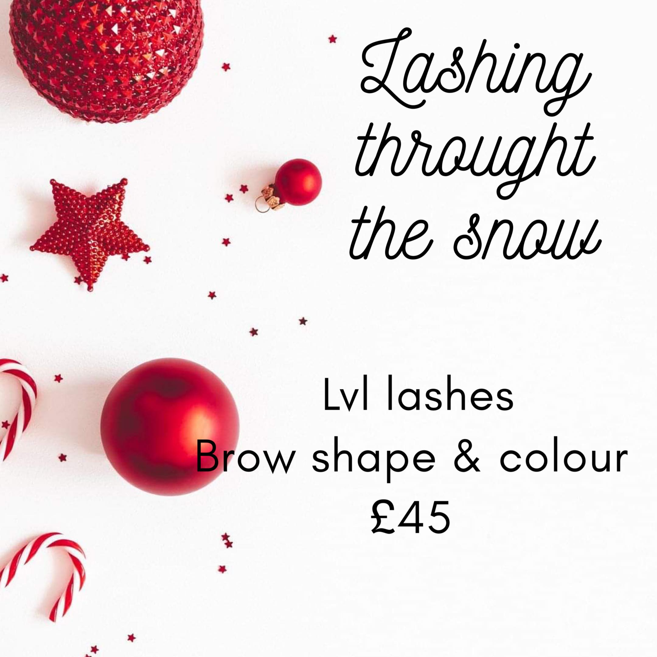 Lashing through the Snow at Find Wax Bar and Beauty
