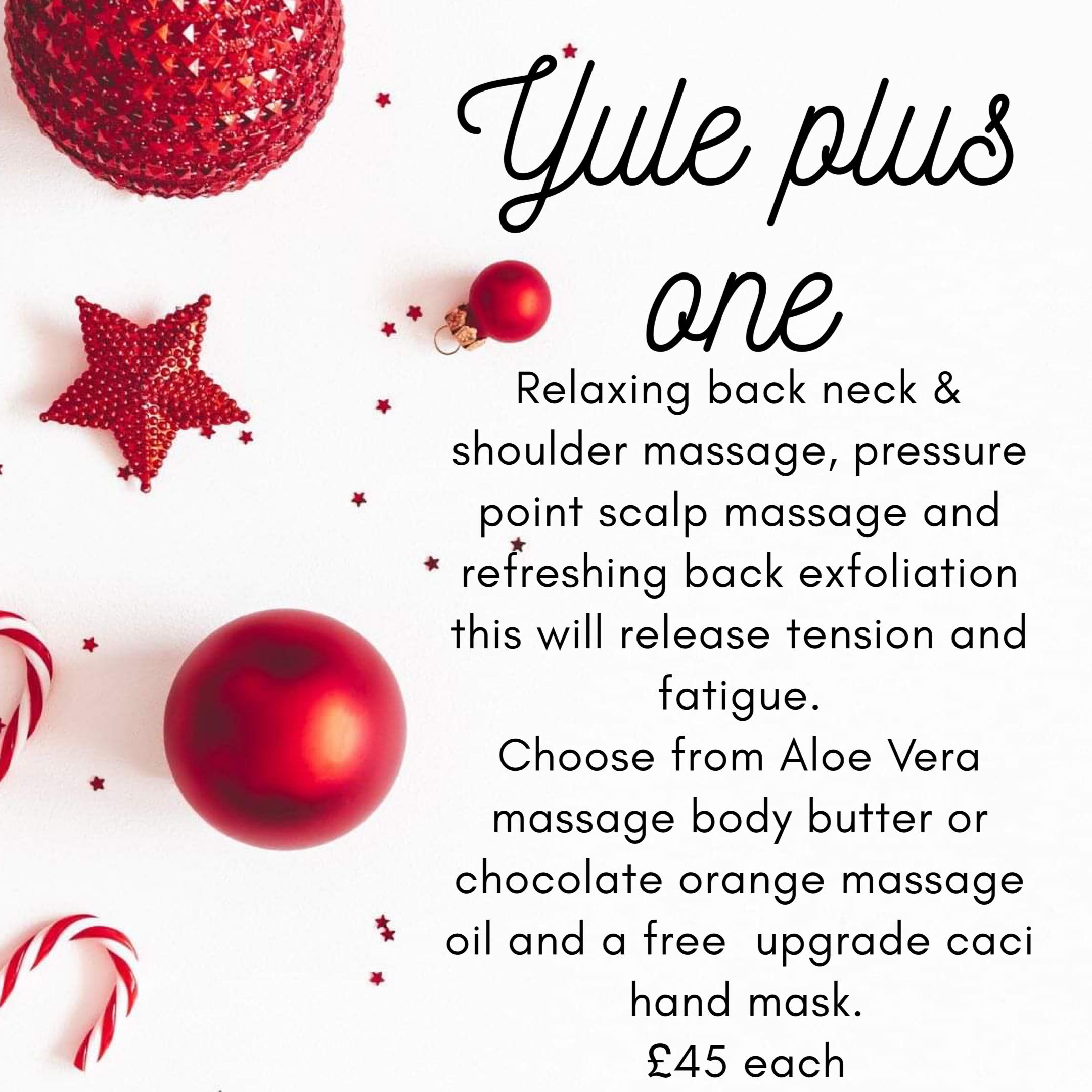 Yule Plus One  at Find Wax Bar and Beauty